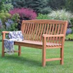 Living Accents 5 ft Outdoor Teak wood bench