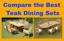 compare the best teak dining sets