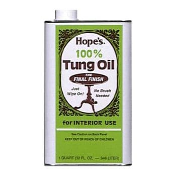 hopes 100 tung oil