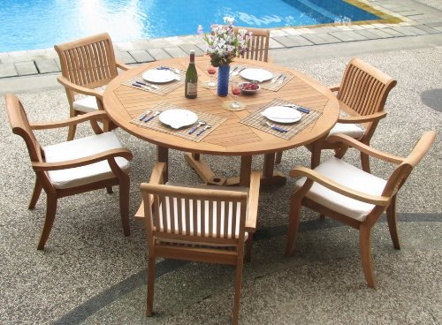 7-piece-teak-circular-dining-set